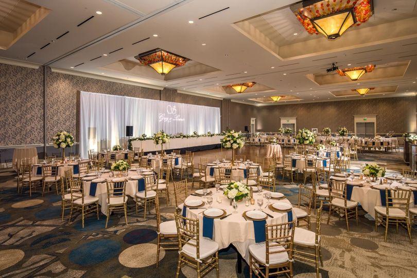 Discovery Ballroom Wedding
