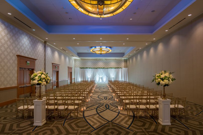 Heritage Ballroom Wedding Ceremony