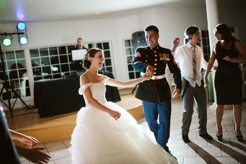 Commanding the dance floor