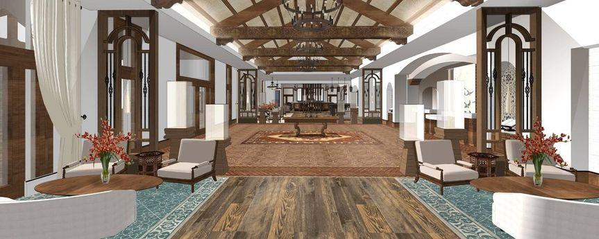 San Juan hall rendering
