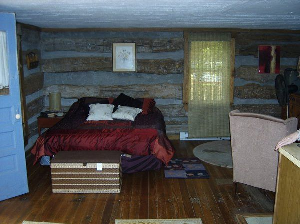 The rustic apartment is perfect for grand parents who may be non-campers.  It has a private bathroom...
