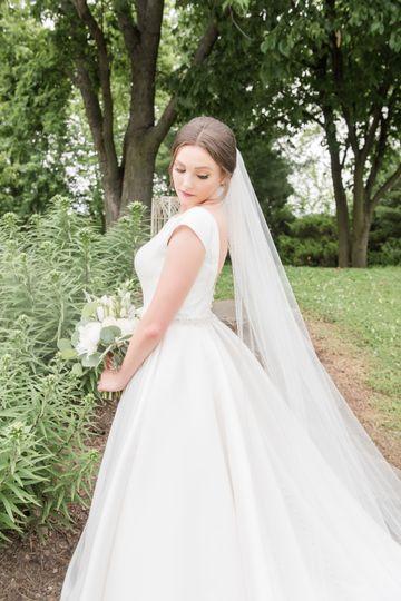 Bride stunning