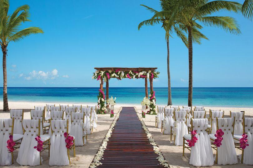 Dream destination nuptials