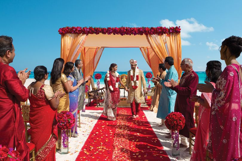 Wedding in the Pacific