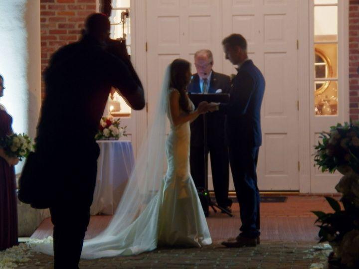 Night wedding at White Oak Plantation