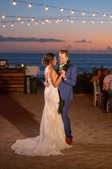 First dance at Olowalu, Maui