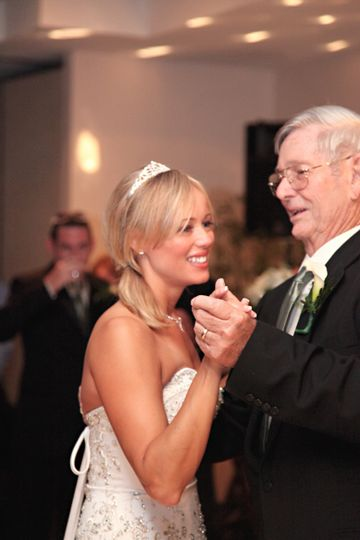 Bridal with her father