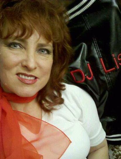 DJ Lisa Hahn, Heart of Rock DJ (Sock Hop photo)