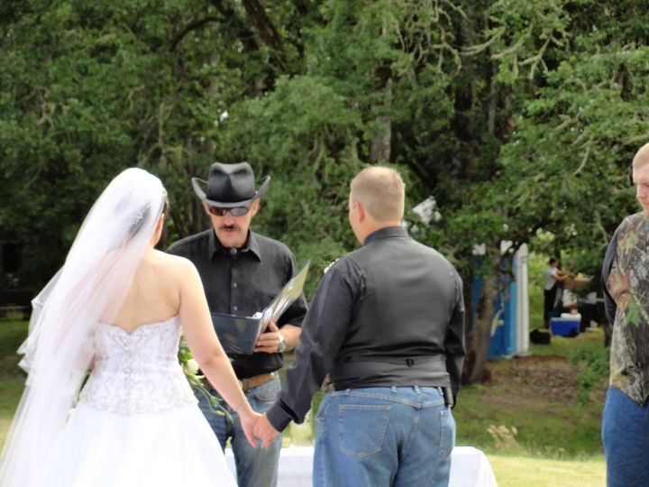 Lindsay & Marc's vows, with Philip Hahn of Heart of Rock DJ (wedding officiant)