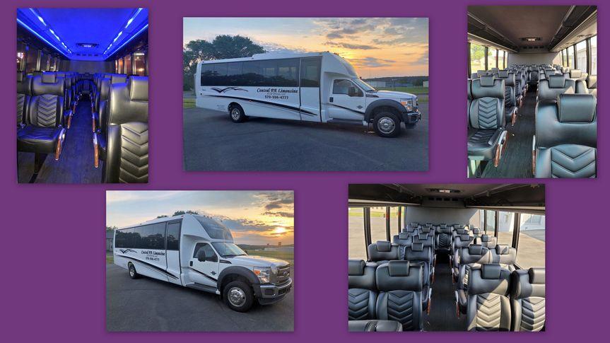 27 pass shuttle bus