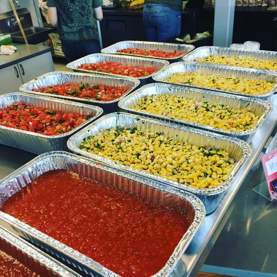 Fresh salsas