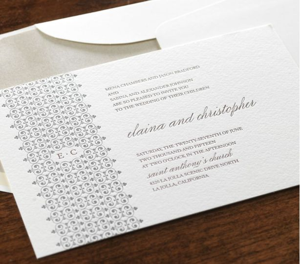 Contemporary invitations