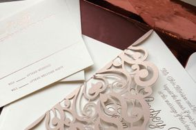 The Artist's Palette Invitations