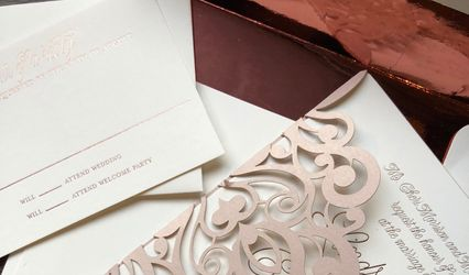 The Artist's Palette Invitations