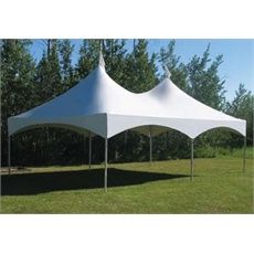 Many sizes of tents