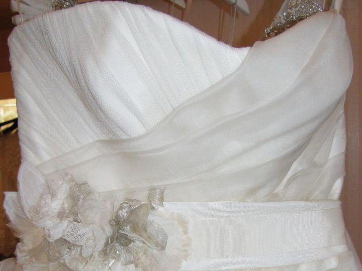 Tmx 1348805243902 Sculpturedfloralbelt Lambertville wedding dress