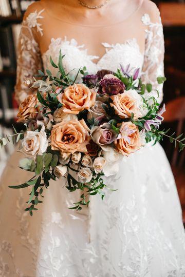 Muted Bride's Bouquet
