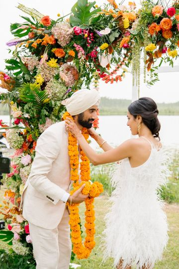Tropical Indian Wedding