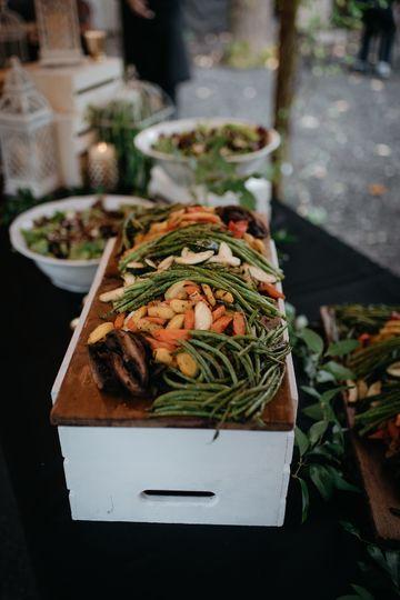 Wedding Buffet © The Stirewalts Photography