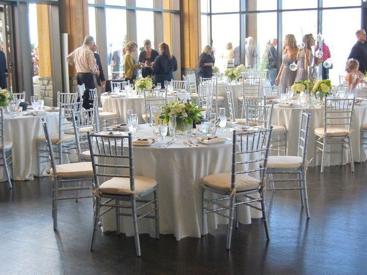 Tmx 1354134892293 Whiteandsilverguesttable Kirkland, WA wedding catering