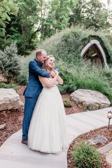 Hobbit House wedding
