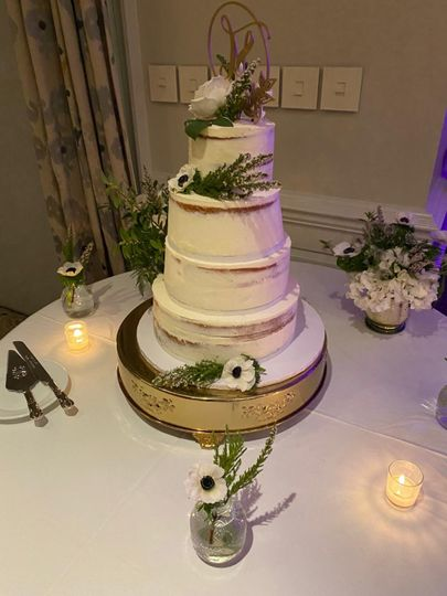 Weddings and Vow White Cake