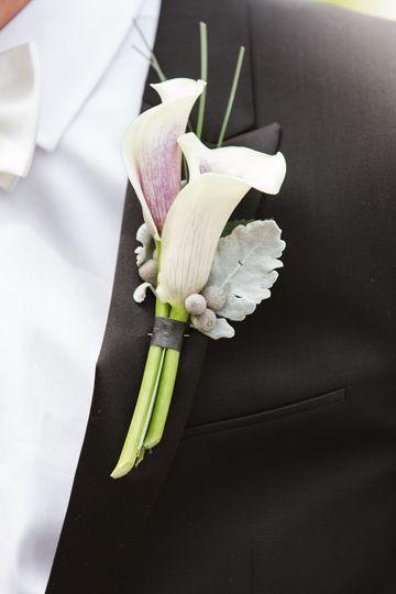 White corsage