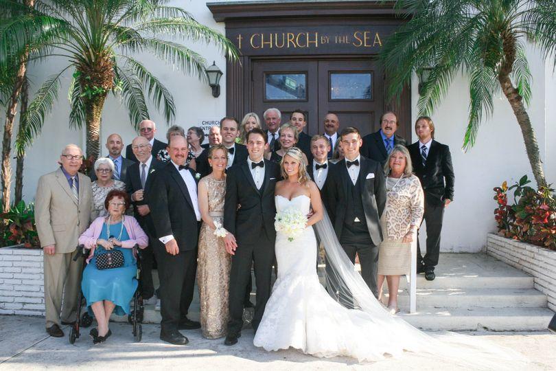Family church photo