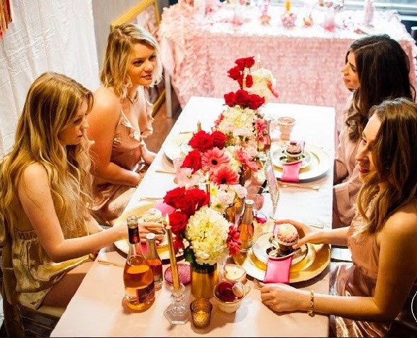 Ladies at the table