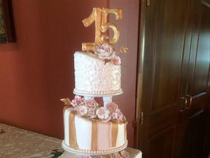 Tmx 1469540285146 2d2134c1 E4cb 4b5e 9aa5 A12850d9bad4 Ventura, California wedding cake