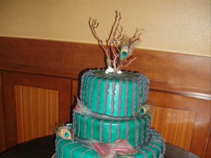 Tmx 1332189760752 Weddingday2oct282011cake2 Santa Maria wedding planner