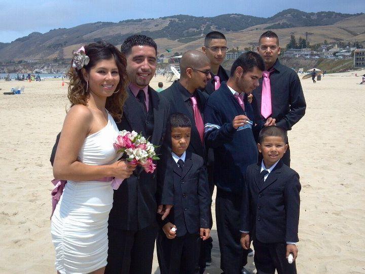 Tmx 1349300209501 8412PattyandAlvaroinPismoBeachCA Santa Maria wedding planner