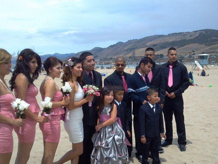 Tmx 1349300214286 84123PattyandAlvaroinPismoBeach Santa Maria wedding planner