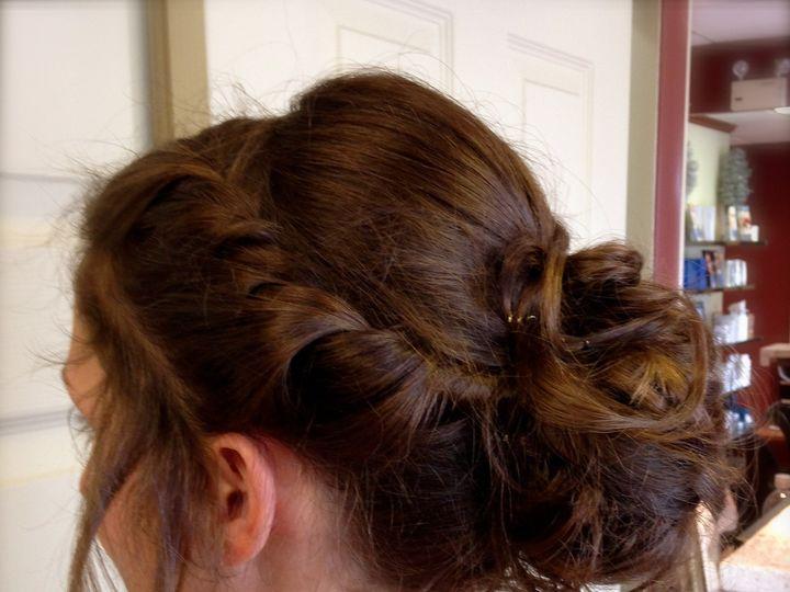 Tmx 1430155088835 Szbrunettecurlsupdo Wilmington, DE wedding beauty