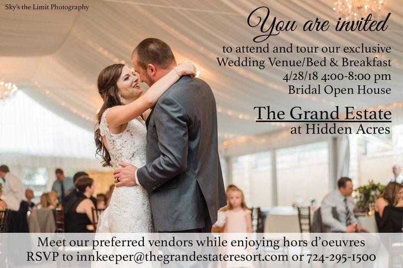 ec880b26f8329219 Bridal Open house Invite