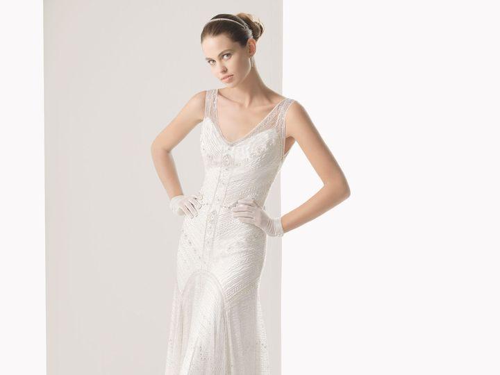 Tmx 1386807255814 Vestidodenoviarosaclara276  San Mateo wedding dress
