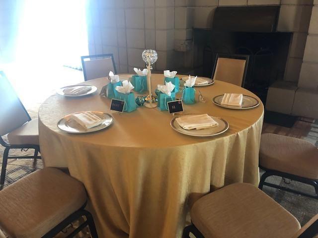 Tiffany B Table Setting