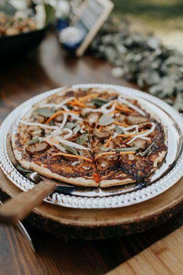 Ravenous gourmet pizza