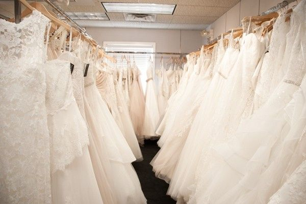 Wide selection of dresses