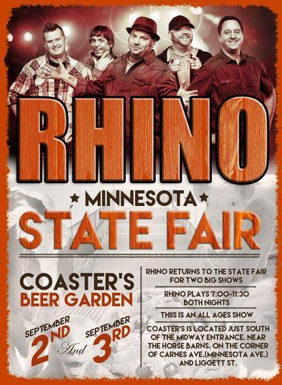 Rhino at the Minnesota State Fair