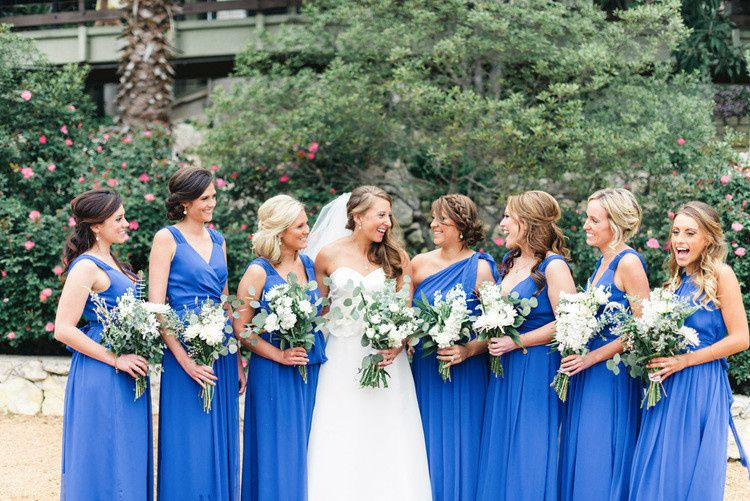 38cdb638810 Union Station Bridesmaid dresses in Royal.