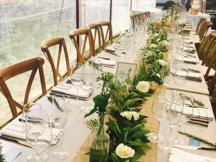 Tmx 1477573320794 Bay Leaf Runner  Marshfield wedding florist