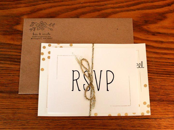 Tmx 1416280837785 Invite Minneapolis wedding invitation