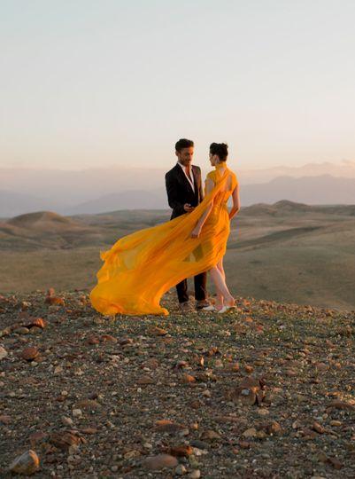 Proposal In Marrakech