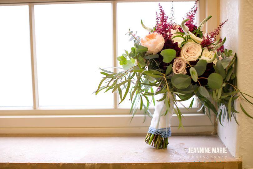 Lindsay's bouquet