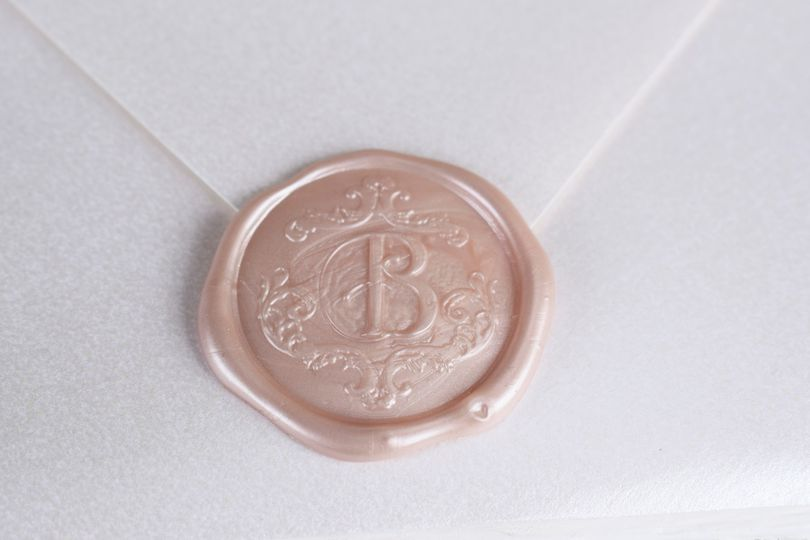 Beautiful wax seal