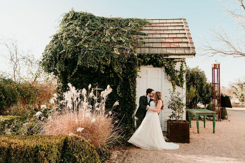 Winter wedding at Barr Mansion