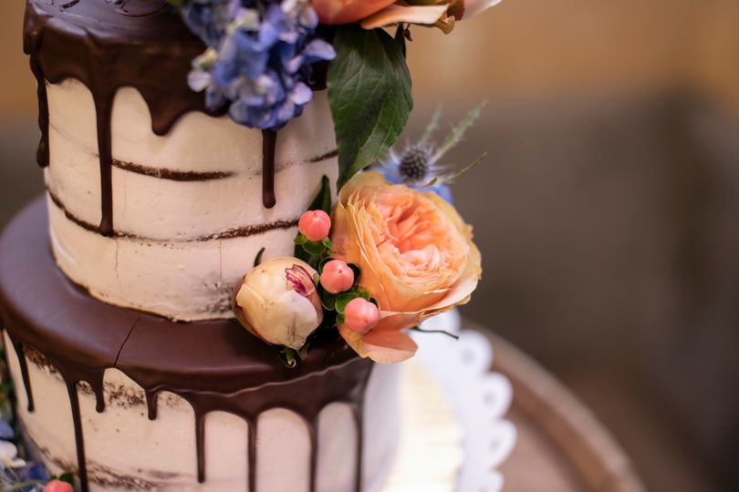The wedding cake - Ares Photography