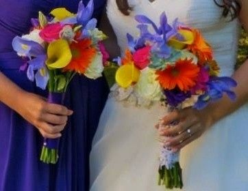 Tmx 1414799950245 Brittany And Ashleys Bouquet Cropped Reisterstown, MD wedding florist