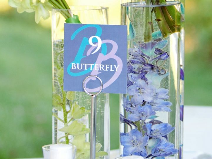 Tmx 1415490271509 Brittany Table Numbers Reisterstown, MD wedding florist